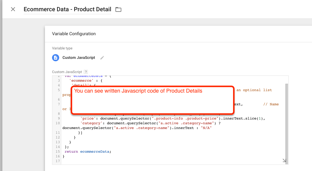 Implementation of Google Tag Manager in OpenCart
