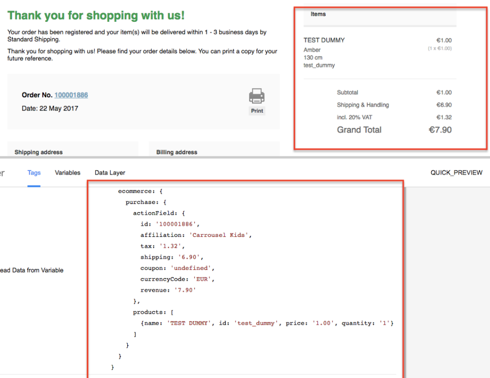 Google Analytics for Magento eCommerce Tracking
