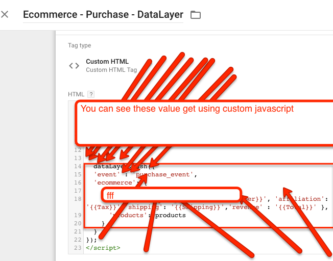 Drupal Ecommerce Tracking using Google Tag Manager