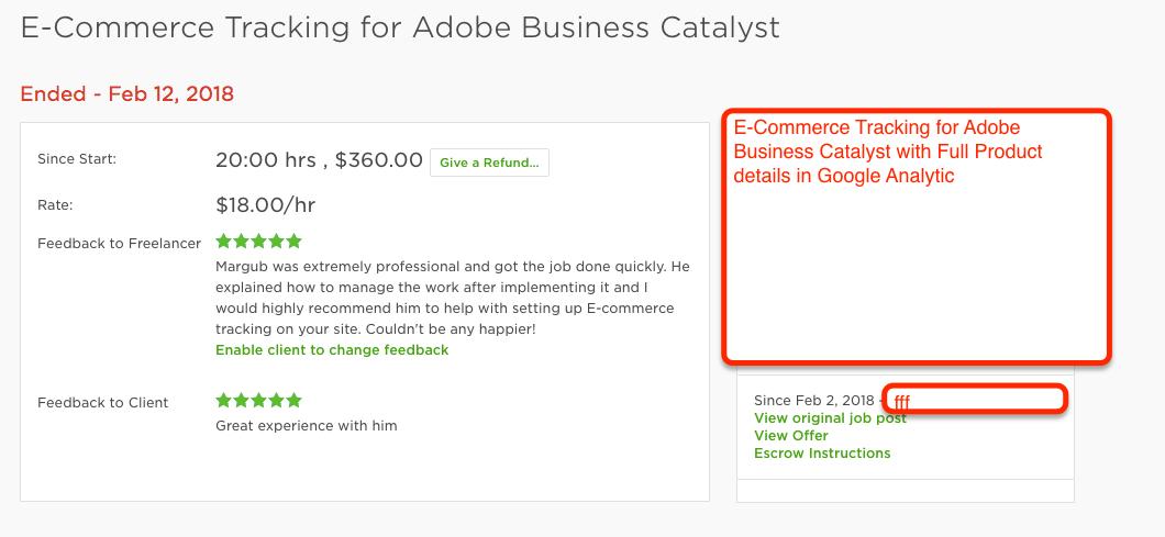 E commerce tracking for adobe business catalyst using google analytic e commerce tracking for adobe business catalyst wajeb Image collections