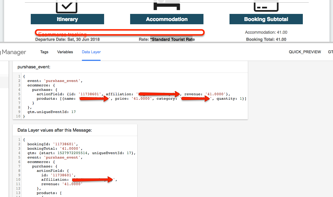 External eCommerce on RMS Hotel Booking Engine