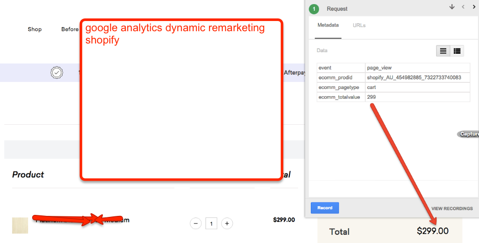 Setup AdWords Dynamic Remarketing for Shopify