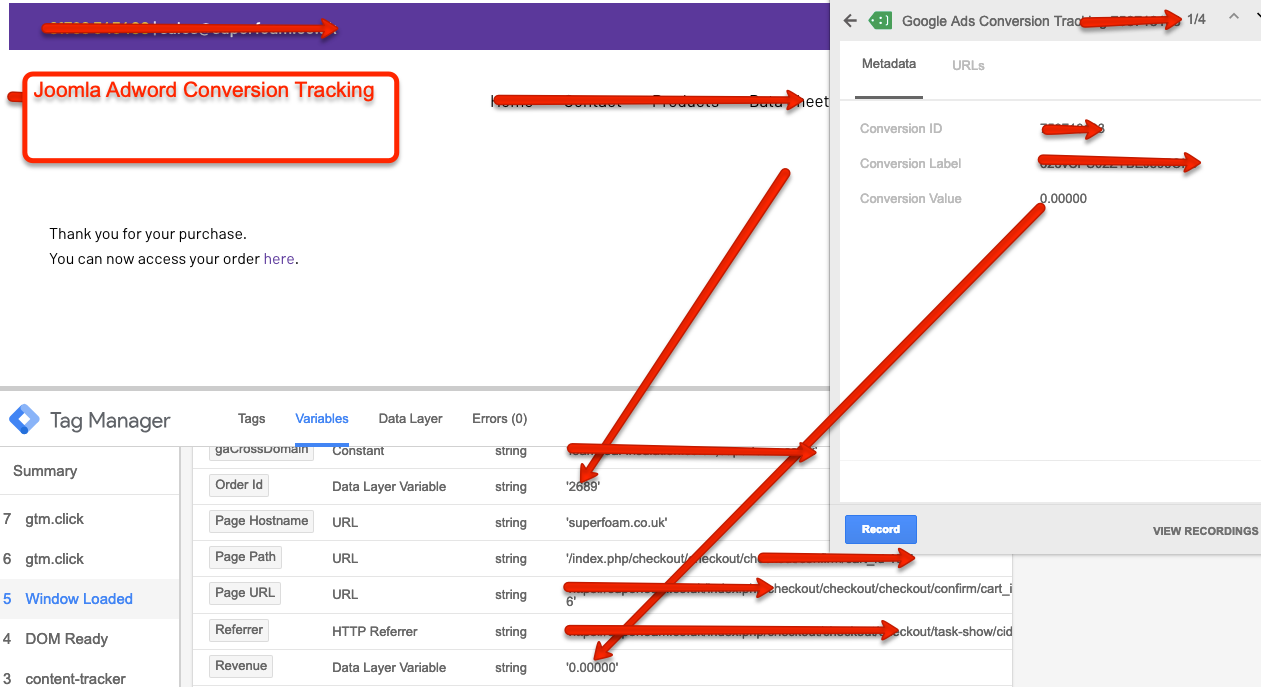 Google Adwords Conversion for HikaShop