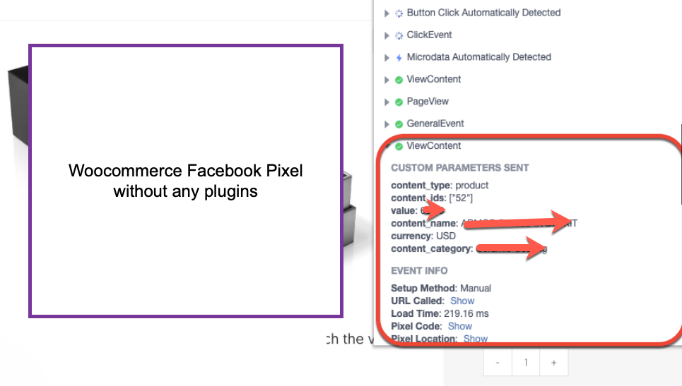 WooCommerce Facebook Pixel Events