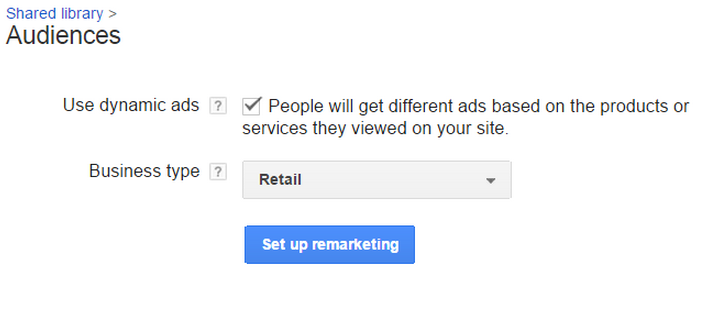 Google Tag Manager Big-commerce Re-marketing