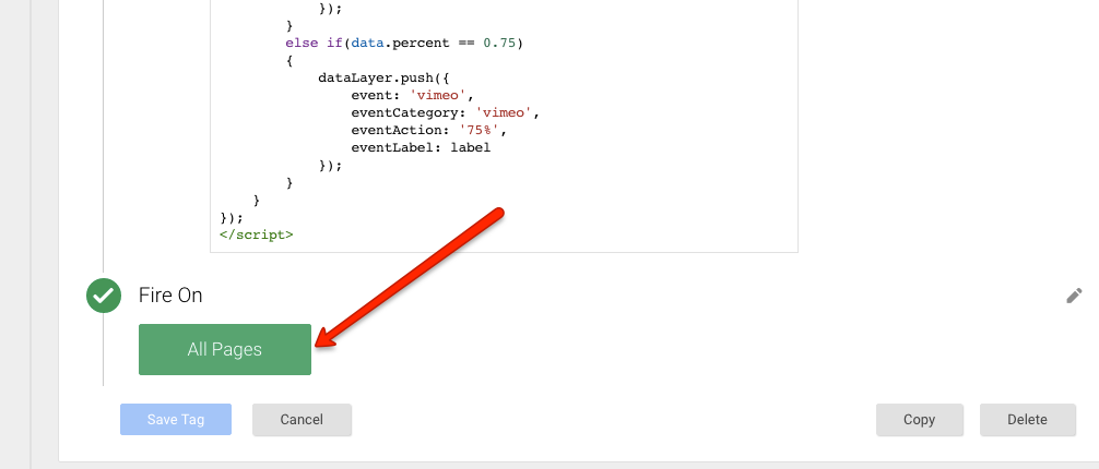 Embedded Tracking Vimeo Video with Google Tag Manager
