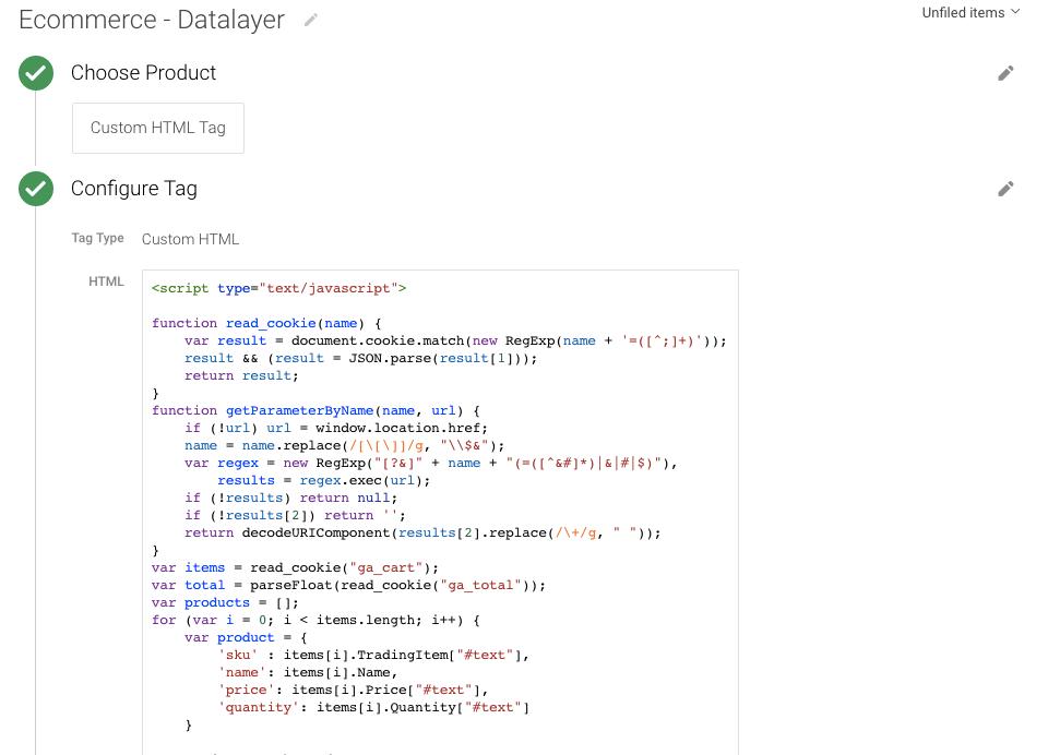 DataLayer In Custom JavaScript Variables