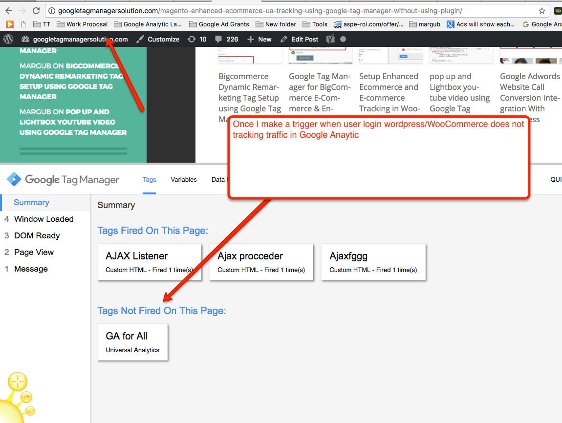 Exclude Login Traffic from Google Analytics using Google Tag Manager