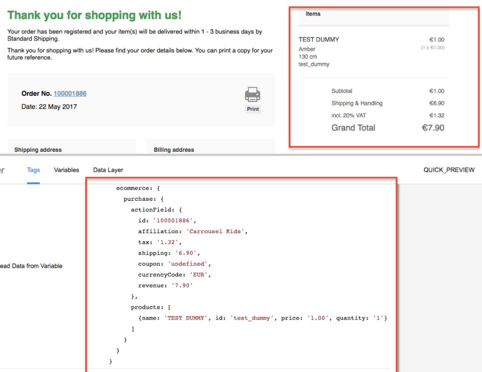Google Analytics for Magento eCommerce Tracking