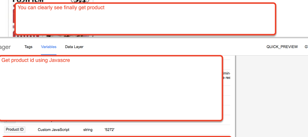Woocommerce Product id using Google Tag Manager