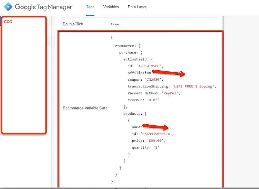 Custom Javascript written FoxyCart Ecommerce Tracking