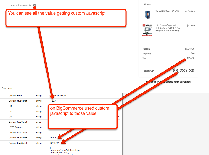 google tag manager bigcommerce stencil E-commerce Tracking