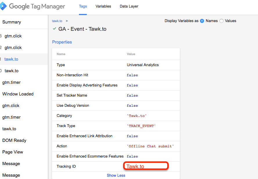 Track Live Chat App Tawk.to with Google Tag Manager (GTM)