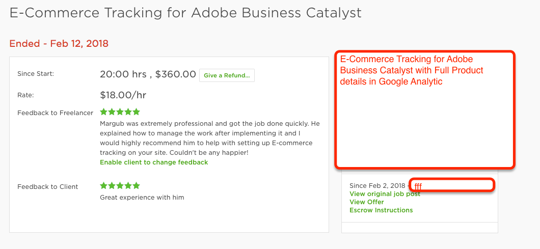 E-Commerce Tracking for Adobe Business Catalyst