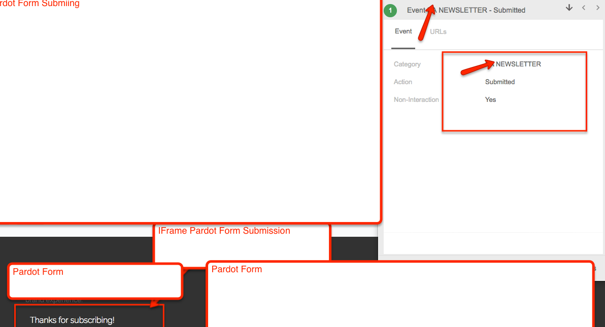 Pardot Form Tracking as Event Tracking using Google Tag Manager