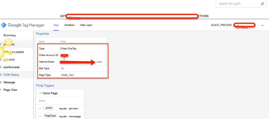 Implemented Criteo OneTag onBigCommerce