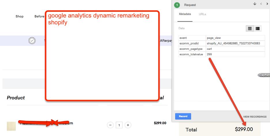 Setup AdWords Dynamic Remarketing for Shopify