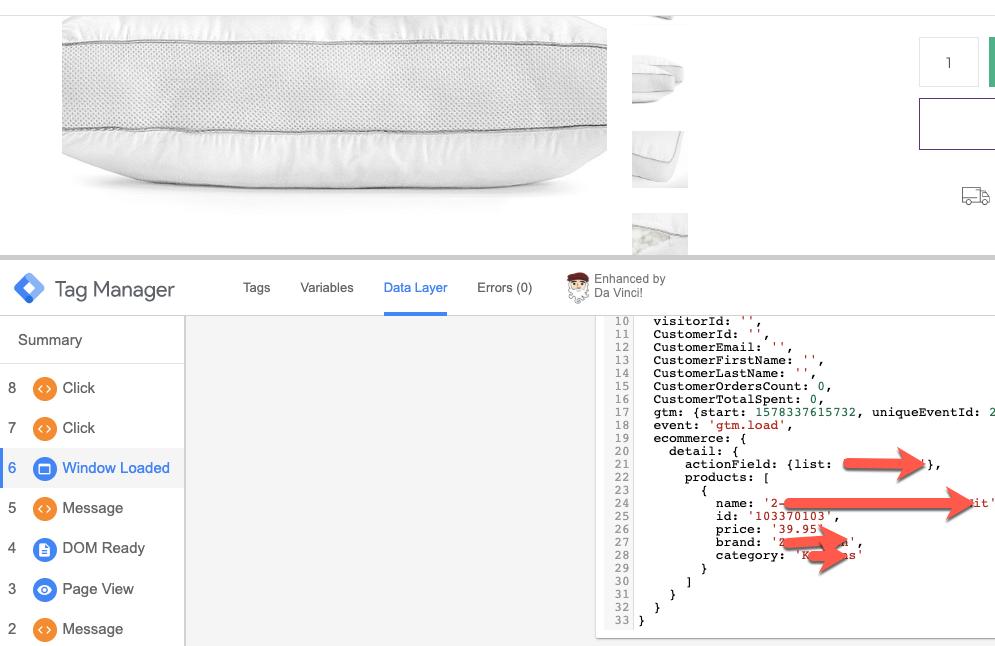 Enhanced Ecommerce Tracking using Google Tag Manager