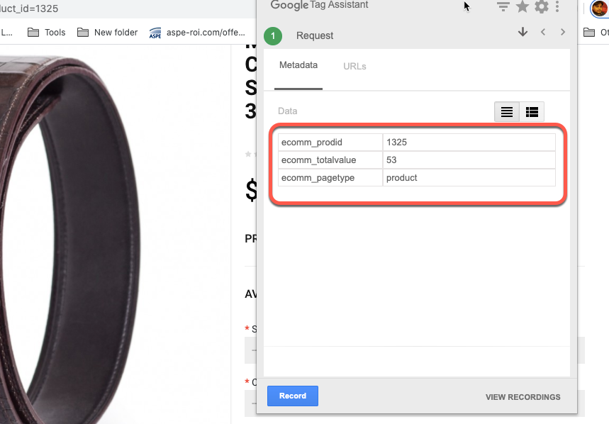 Google adwords Dynamic Remarketing in OpenCart
