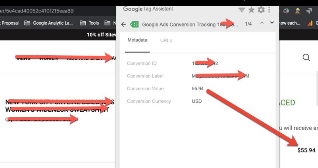 Dynamic Google AdWords Conversion Tracking on Drupal