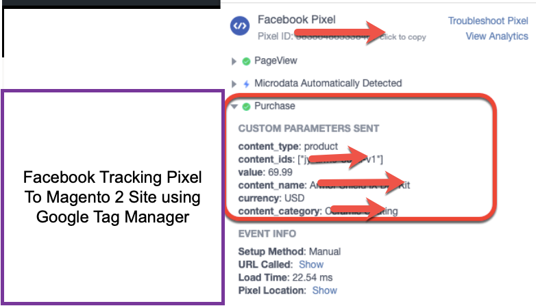 Facebook Pixel Integration Magento 2