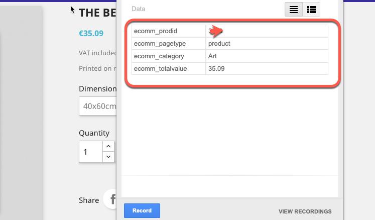 Google Dynamic Remarketing Tag