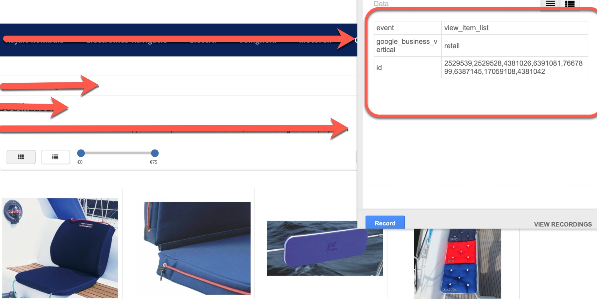 Google Ads Dynamic Remarketing Events with New Event snippet