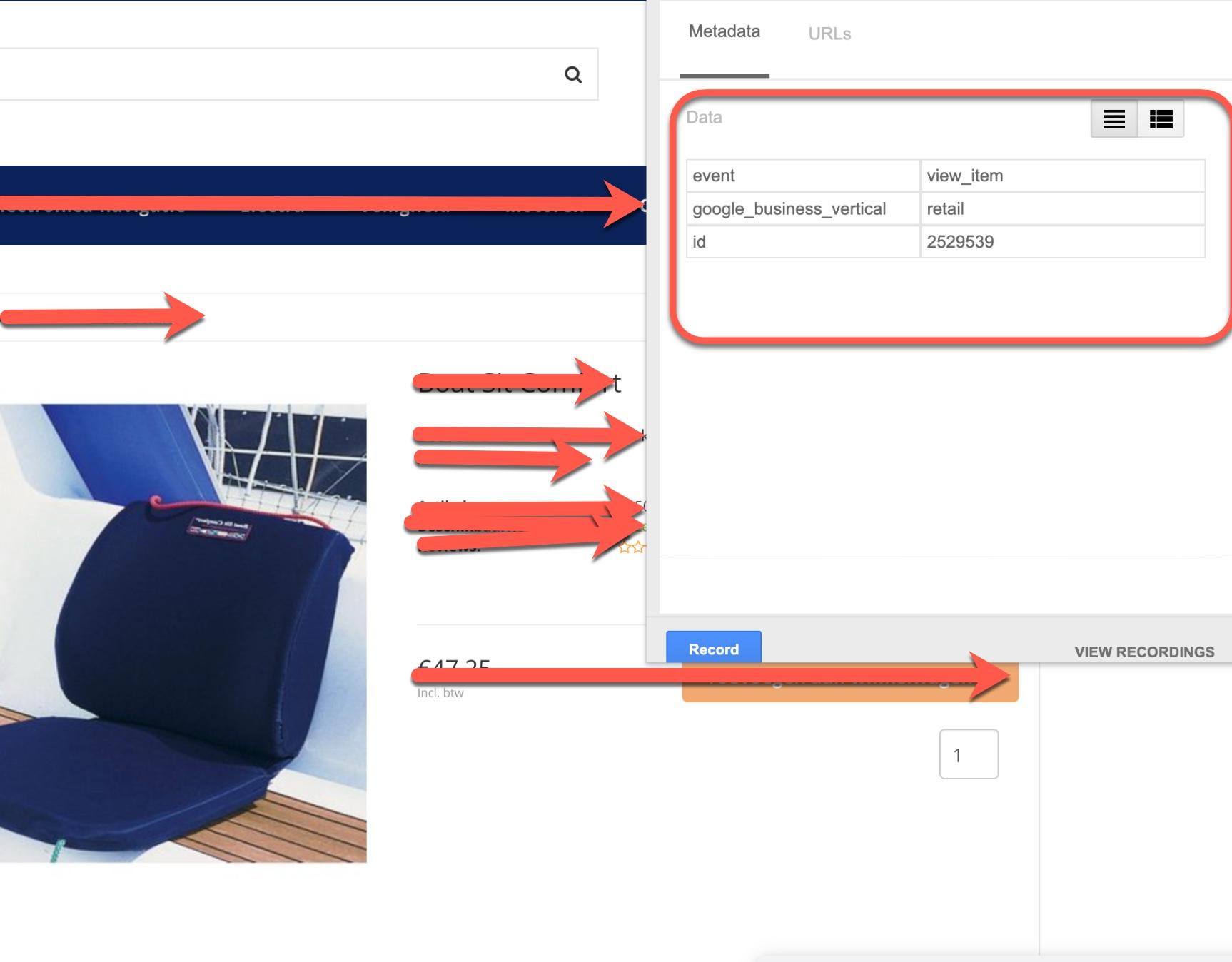 Send Google Ads Dynamic Remarketing Event Data