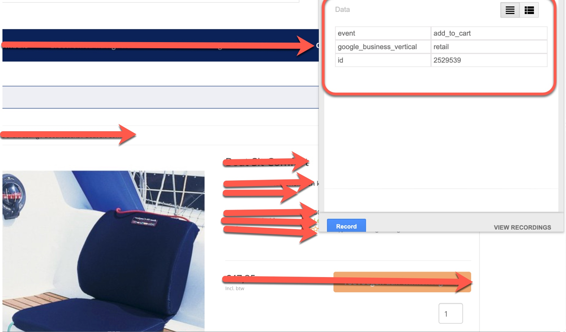 Adding Dynamic Remarketing Tags using Google Tag Manager
